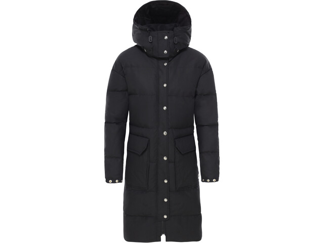 The North Face Down Sierra Long Parka Dame tnf black